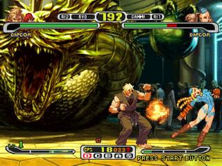 Screenshot Thumbnail / Media File 1 for Capcom vs. SNK - Millennium Fight 2000 Pro [U]